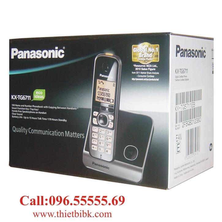 ĐIỆN THOẠI KÉO DÀI PANASONIC KX-TG6711