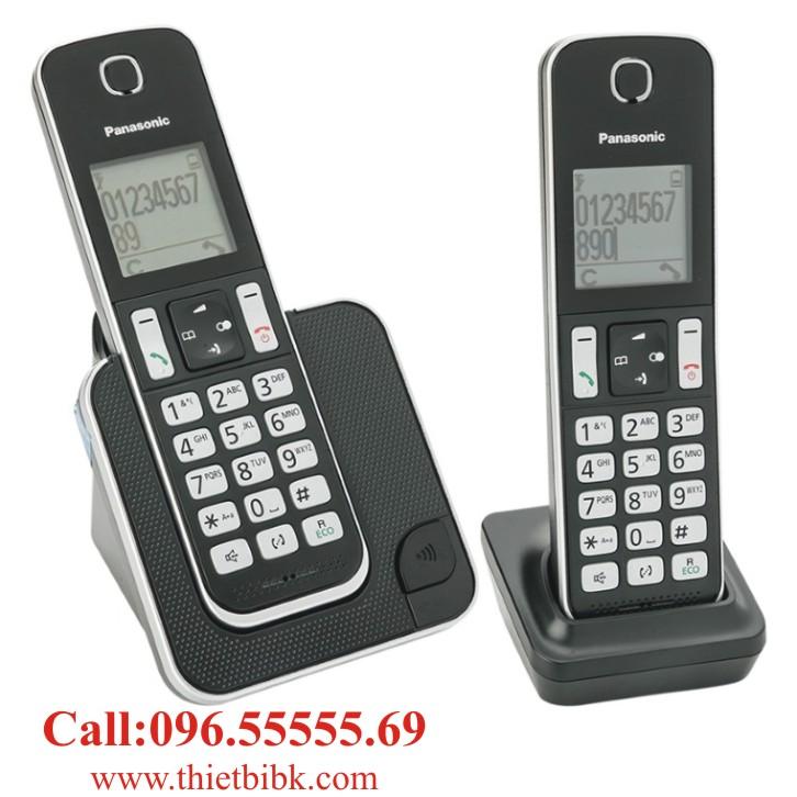 Điện thoại kéo dài Panasonic KX-TGD312 dùng cho gia đình