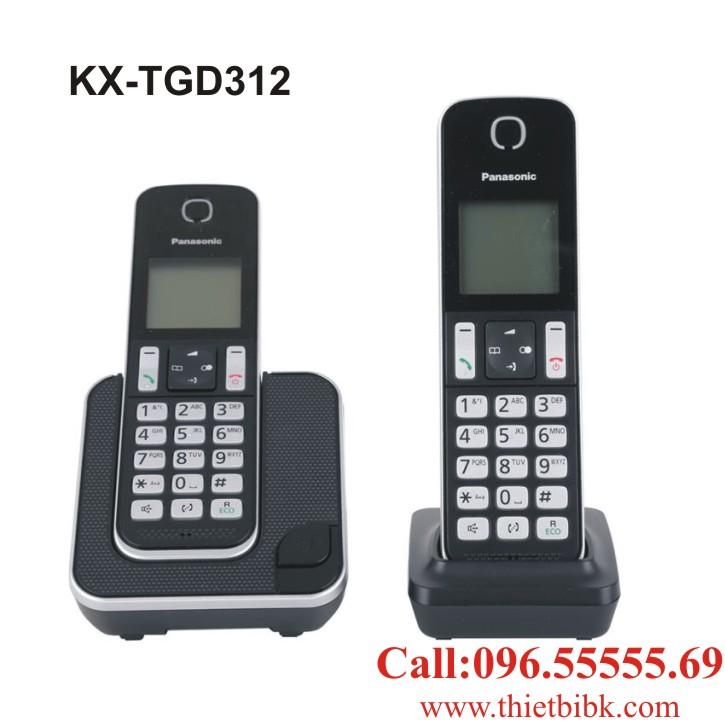 Điện thoại kéo dài Panasonic KX-TGD312 dùng cho văn phòng công ty