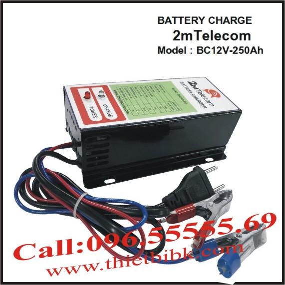 Bộ nạp ắc quy tự động 2mTelecom BC12V-250Ah