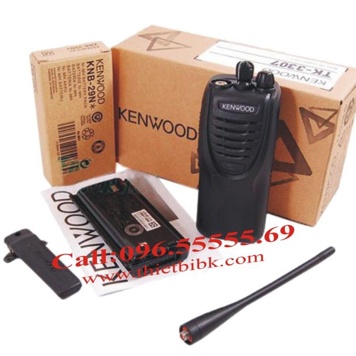 Bộ đàm KENWOOD TK-3307 dùng cho khu công nghiệp, điều hành sản xuất