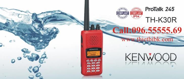 Bộ đàm cầm tay Kenwood TH-K30R dùng cho du lịch