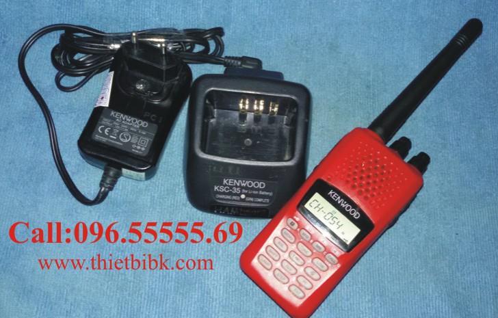 Bộ đàm cầm tay Kenwood TH-K30R dùng cho khu công nghiệp