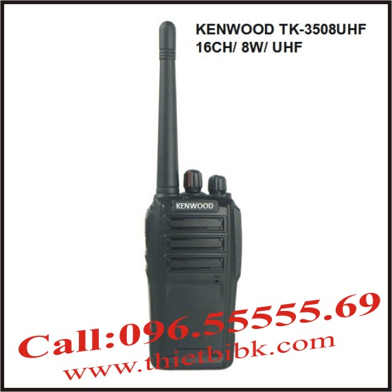 Máy bộ đàm Kenwood TK-3508 UHF 8W