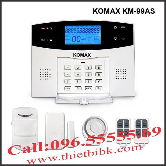 Thiết bị báo động không dây KOMAX KM99AS