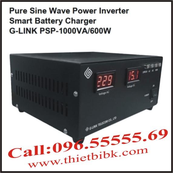 Bộ kích điện sin chuẩn và sạc ắc quy tự động G-LINK MSP-1000VA