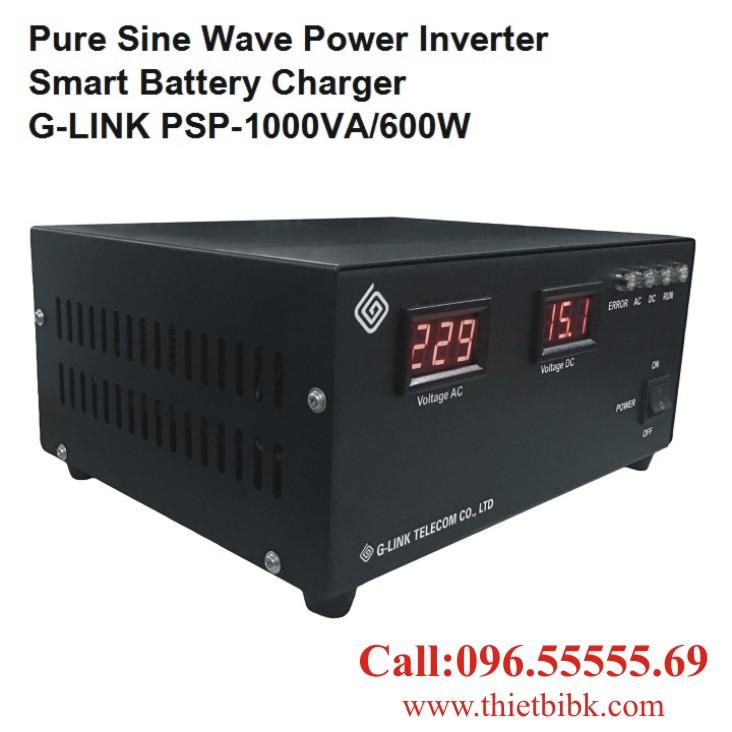 Bộ kích điện sin chuẩn và sạc ắc quy tự động G-LINK MSP-1000VA dùng cho Camera
