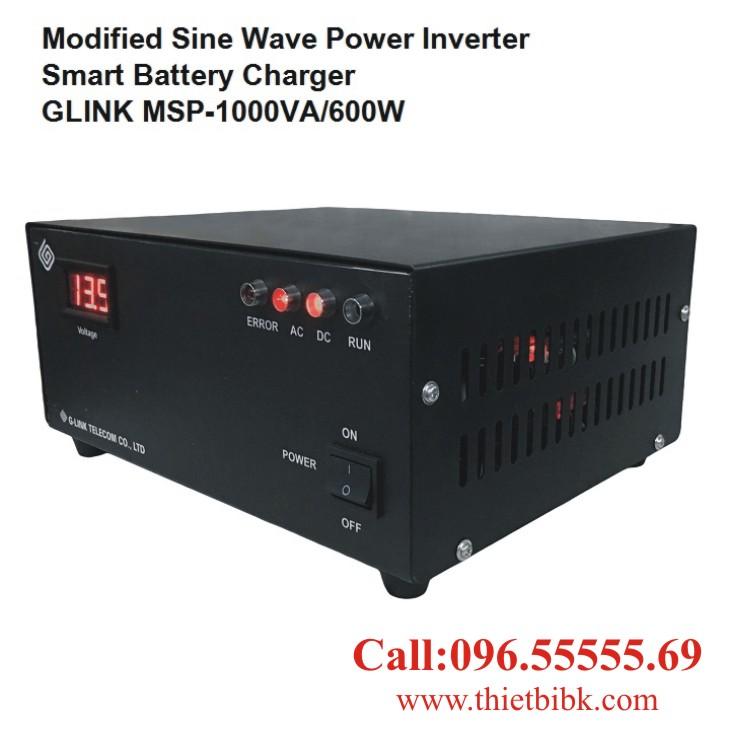 Bộ kích điện và sạc ắc quy tự động G-LINK MSP-1000VA dùng cho Camera an ninh