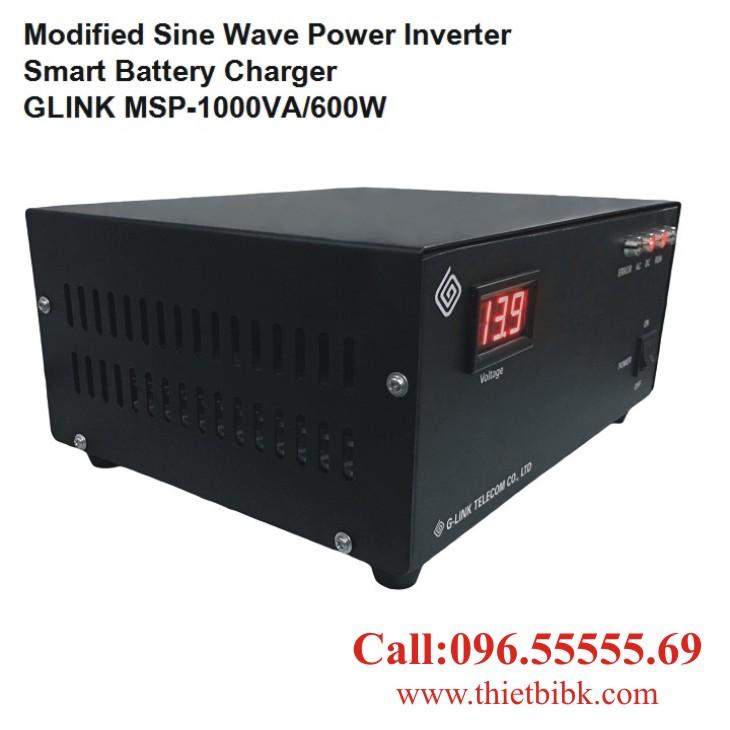 Bộ kích điện và sạc ắc quy tự động G-LINK MSP-1000VA dùng cho cửa cuốn
