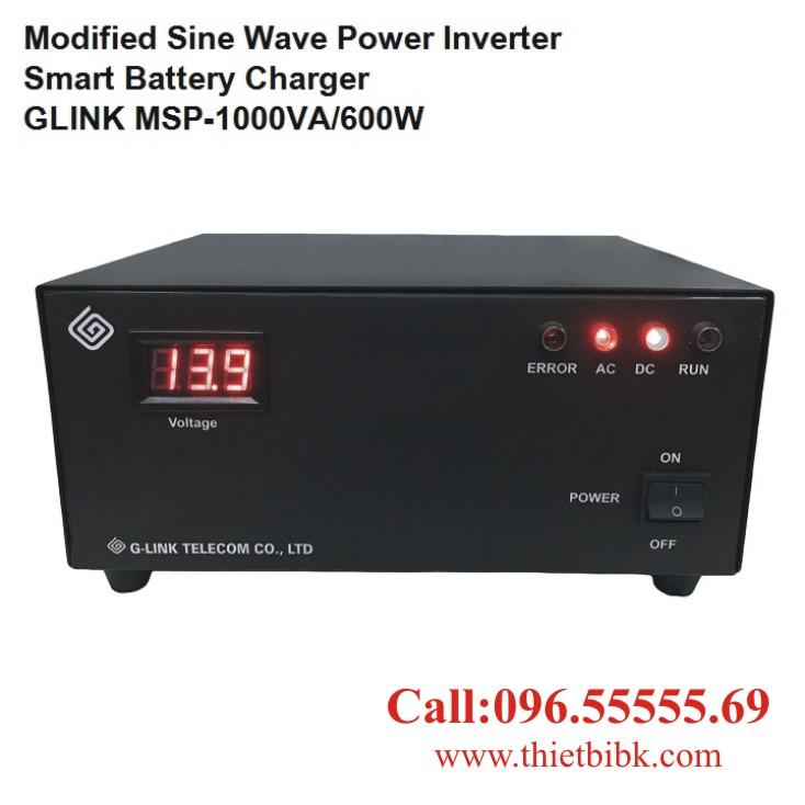 Bộ kích điện và sạc ắc quy tự động G-LINK MSP-1000VA dùng cho gia đình